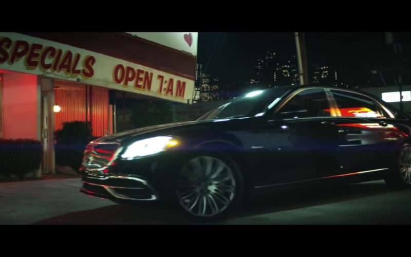 Mercedes-Maybach Luxury Car in Only Want You by Rita Ora ft. 6LACK (1)