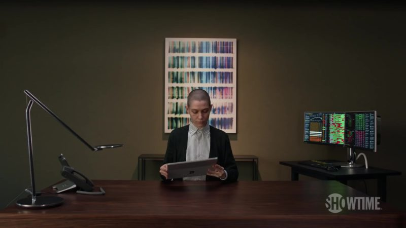 Microsoft Surface Tablet  Used by Asia Kate Dillon (Taylor Mason) in Billions (Season 4, Showtime, 2019) TV Show Product Placement