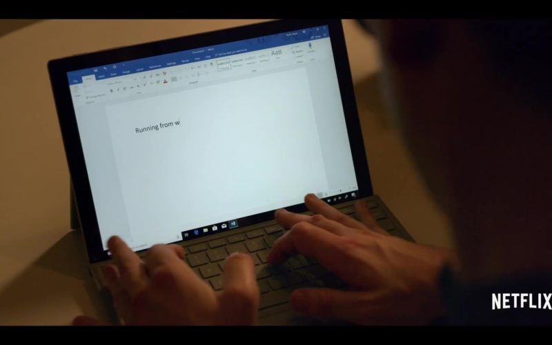 Microsoft Surface Tablet Used by Ryan O'Connell in Special Season 1