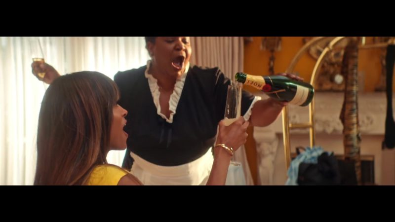 "Moët & Chandon Champagne in ""Thinkin Bout You"" by Ciara (2019) - Official Music Video Product Placement"