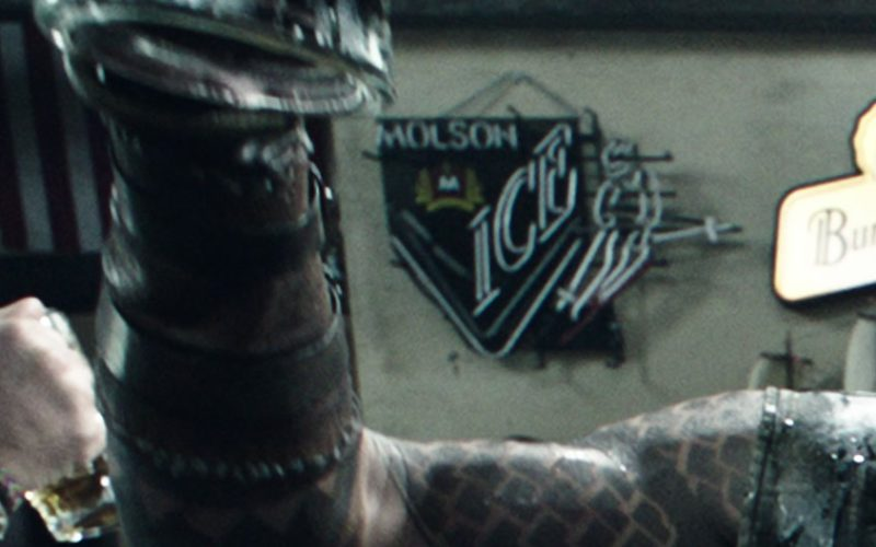 Molson Ice Beer Sign in Aquaman