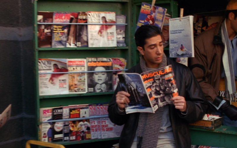 Muscular Magazine Held by David Schwimmer (Ross Geller) in Friends Season 2 Episode 13 (2)