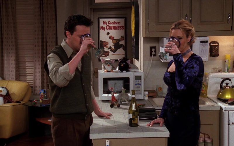 My Goodness My Guinness Poster in Friends Season 5 Episode 14 (4)