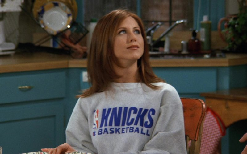 NBA New York Knicks Basketball Team Sweatshirt Worn by Jennifer Aniston (Rachel Green) in Friends (9)
