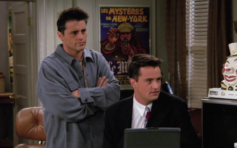 NYNEX White Pages in Friends Season 2 Episode 8 (1)