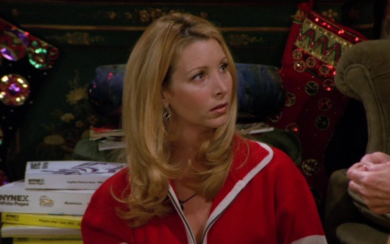 NYNEX White and Yellow Pages Used by Lisa Kudrow (Phoebe Buffay) in Friends Season 2 Episode 9 (3)