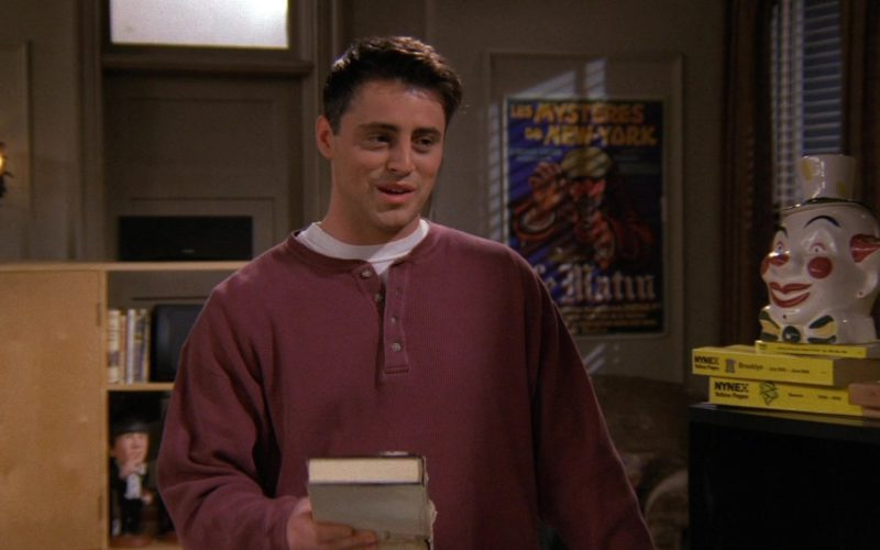 NYNEX Yellow Pages in Friends Season 3 Episode 13 (2)