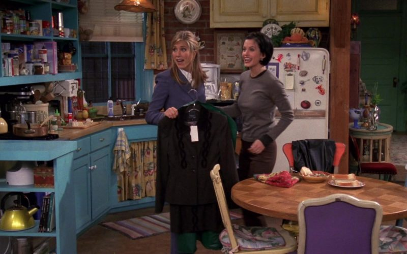Nanette Lepore Jacket and Skirt Held by Jennifer Aniston (Rachel Green) in Friends (4)