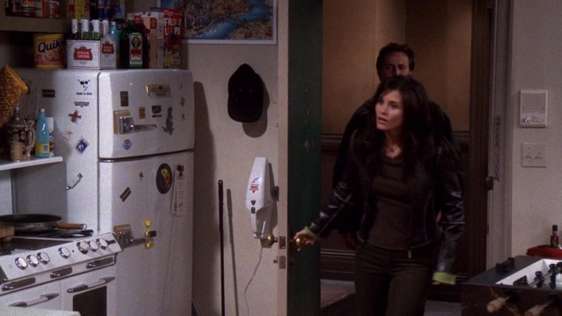 """Nestle Quik, Stella Artois Beer, Jägermeister, Kellogg's Froot Loops Cereal in Friends Season 7 Episode 9 """"The One with All the Candy"""" (2000) - TV Show Product Placement"""