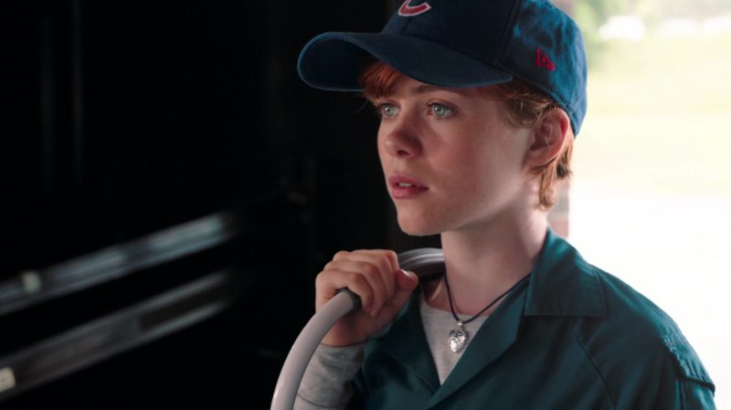 New Era x Chicago Cubs Baseball Team Cap Worn by Sophia Lillis in Nancy Drew and the Hidden Staircase (2019) - Movie Product Placement