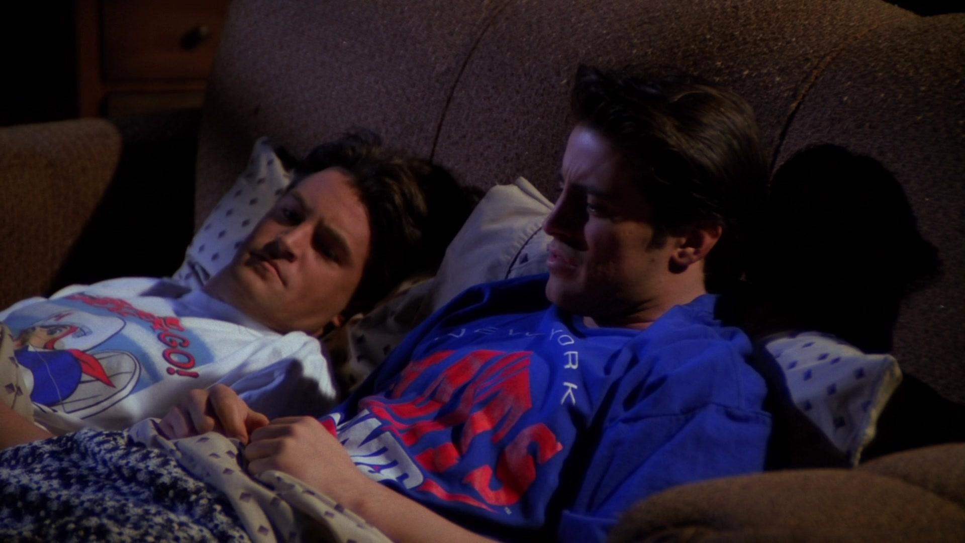 New York Giants American Football Team T-Shirt Worn by Matt LeBlanc