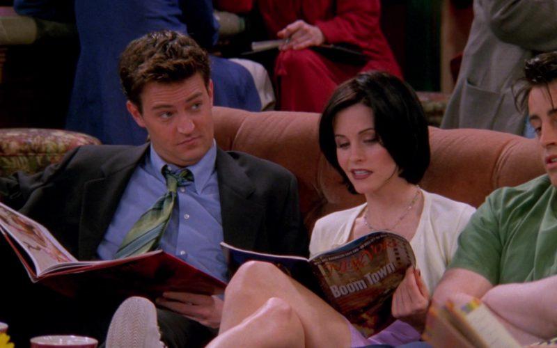 New York Magazine Held by Courteney Cox (Monica Geller) in Friends Season 4 Episode 23 (1)