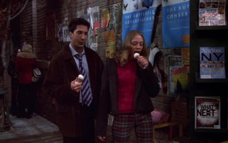 New York Magazine and Yahoo! in Friends Season 6 Episode 18