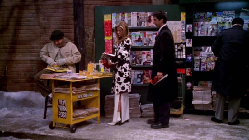 "New York Post Newspapers in Friends Season 6 Episode 15 ""The One That Could Have Been Part 1"" (2000) - TV Show Product Placement"