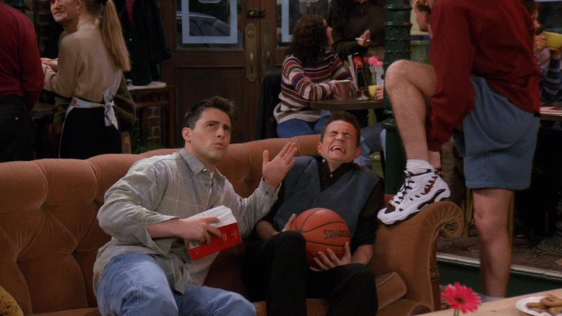 """Nike Men's Sneakers Worn by Markus Flanagan (Robert) in Friends Season 3 Episode 13 """"The One Where Monica and Richard are Just Friends"""" (1997) TV Show Product Placement"""
