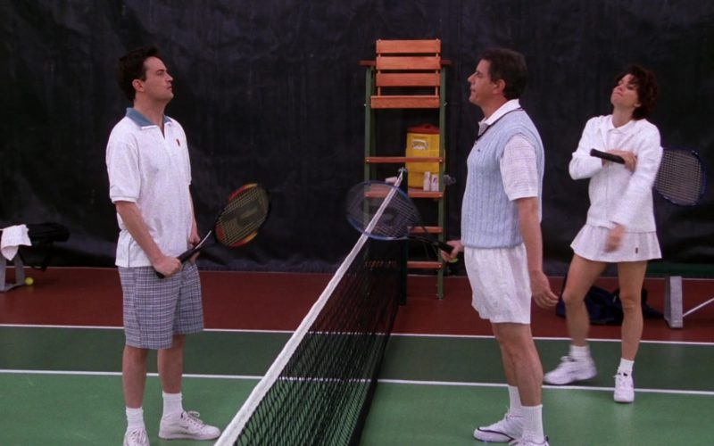 Nike Shirt, Sneakers and Prince Racket Used by Matthew Perry as Chandler Bing in Friends Season 5 Episode 12 (1)