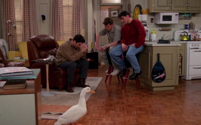 Nike Shoes Worn by Matthew Perry (Chandler Bing) and HEAD Squash Racket in Friends Season 4 Episode 23 (1)