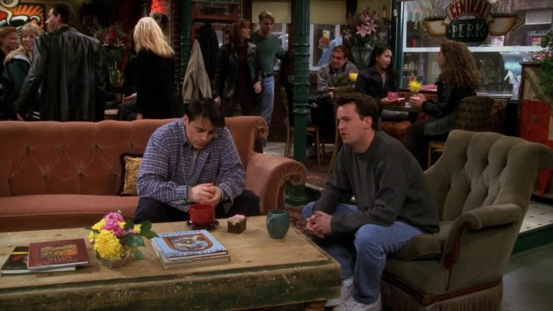 """Nike Shoes Worn by Matthew Perry (Chandler Bing) in Friends Season 4 Episode 22 """"The One With the Worst Best Man Ever"""" (1998) - TV Show Product Placement"""