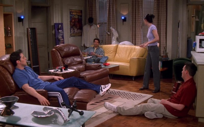Nike Sneakers and Adidas Trousers Worn by Matt LeBlanc (Joey Tribbiani) in Friends Season 5 Episode 21 (1)
