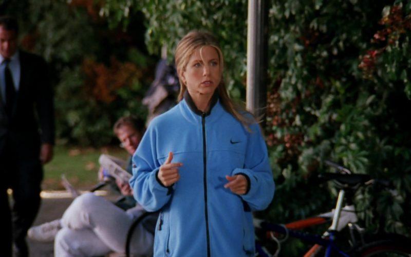 Nike Women's Blue Jacket Worn by Jennifer Aniston (Rachel Green) in Friends Season 6 Episode 7