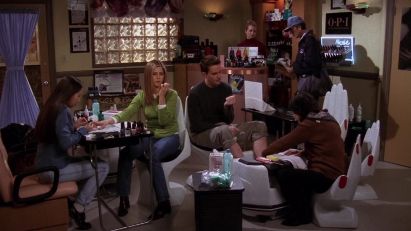 """OPI Nail Care and Nicole by OPI in Friends Season 4 Episode 16 """"The One With the Fake Party"""" (1998) - TV Show Product Placement"""