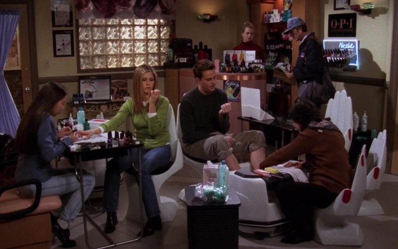 OPI Nail Care and Nicole by OPI in Friends Season 4 Episode 16