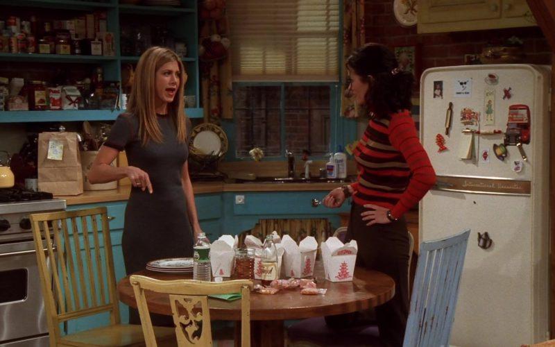 Poland Spring Mineral Water Bottle in Friends Season 5 Episode 7 (1)