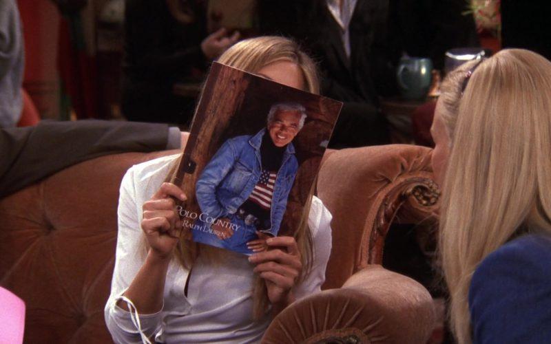 Polo Country by Ralph Lauren Catalog Held by Jennifer Aniston (Rachel Green) in Friends