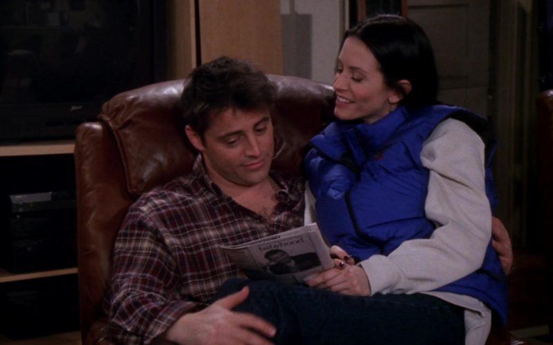 Polo Sport by Ralph Lauren Blue Down Vest Worn by Courteney Cox (Monica Geller) in Friends (1)