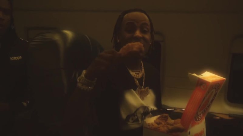 "Popeyes Fried Chicken in ""4 Phones"" by Rich The Kid (2019) Official Music Video Product Placement"