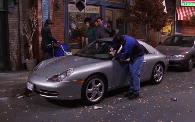 Porsche 911 Carrera Cabrio [996] Convertible Metallic Sports Car in Friends Season 6 (1)