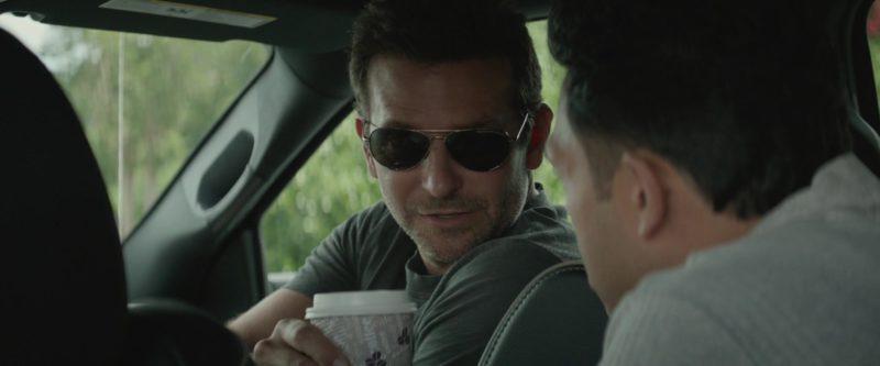 Porsche Design P'8508 Sunglasses Worn by Bradley Cooper in The Mule (2018) Movie
