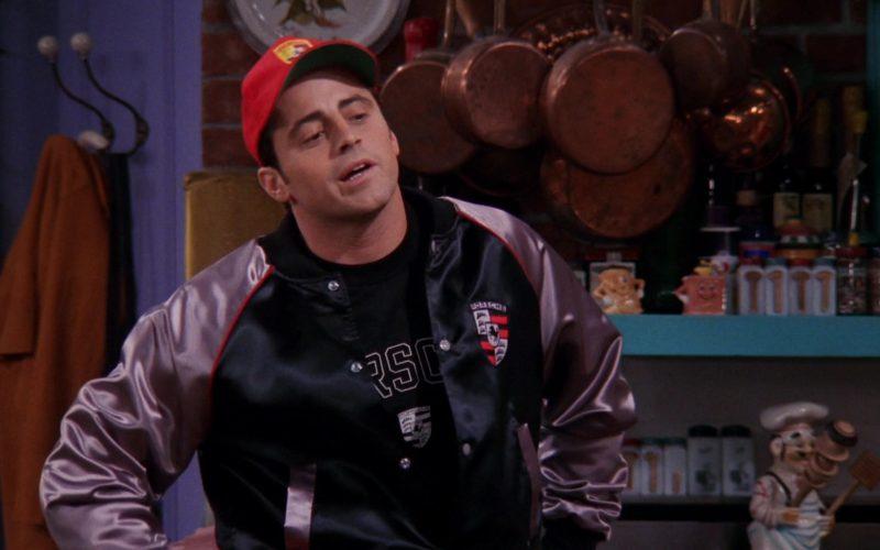 Porsche Jacket, T-Shirt and Red Cap Worn by Matt LeBlanc (Joey Tribbiani) in Friends (1)