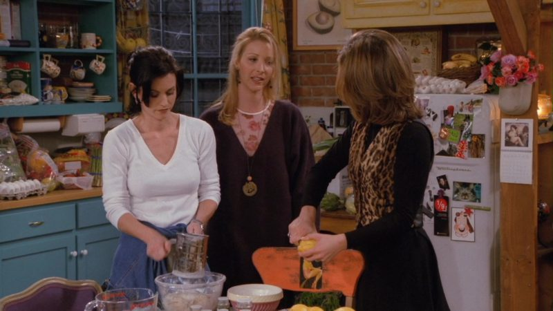 "Pyrex Measuring Jug Used by Courteney Cox (Monica Geller) in Friends Season 2 Episode 11 ""The One with the Lesbian Wedding"" (1996) TV Show Product Placement"