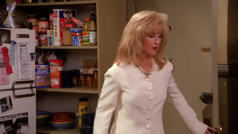 "Quaker Oats, Gatorade, Spam, Pik-Nik Ketchup in Friends Season 1 Episode 11 ""The One With Mrs. Bing"" (1995) - TV Show Product Placement"