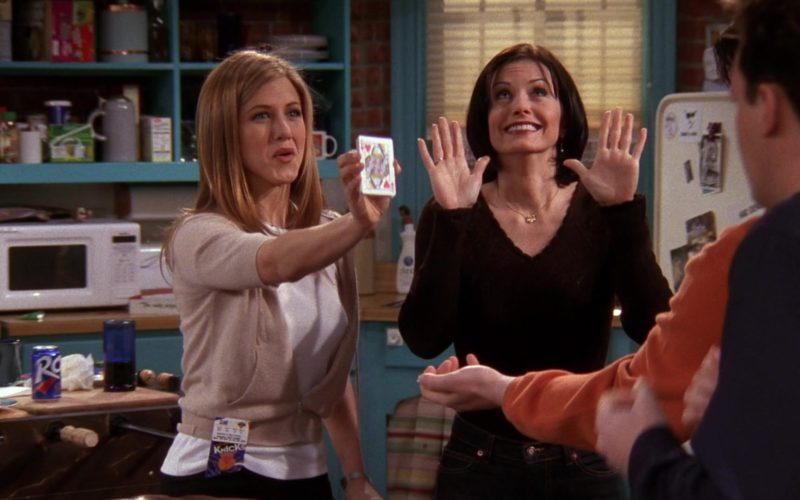 RC Cola and Knick Basketball Tickets in Friends Season 4 Episode 20 (1)
