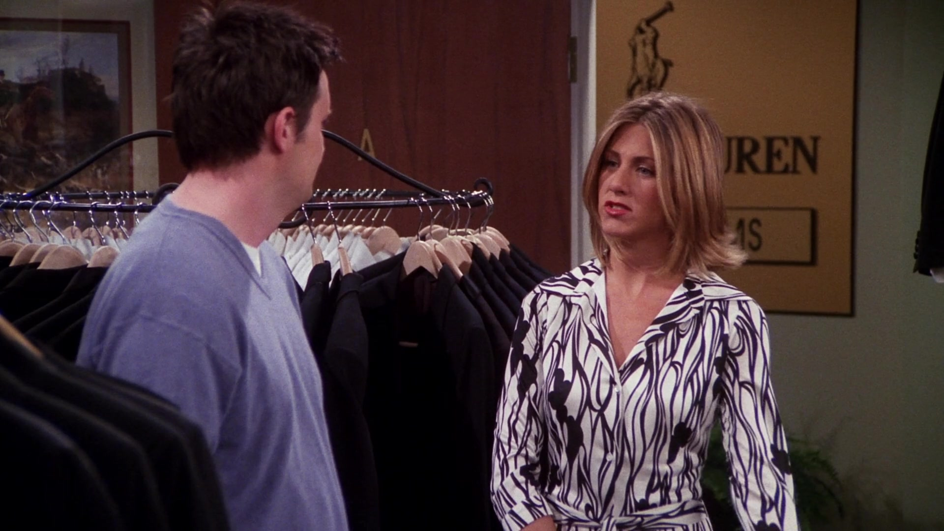 Ralph Lauren Jackets, Pants and Suits in Friends Season 7