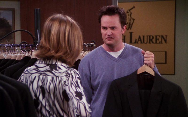 Ralph Lauren Jackets, Pants and Suits in Friends Season 7 Episode 20 (5)