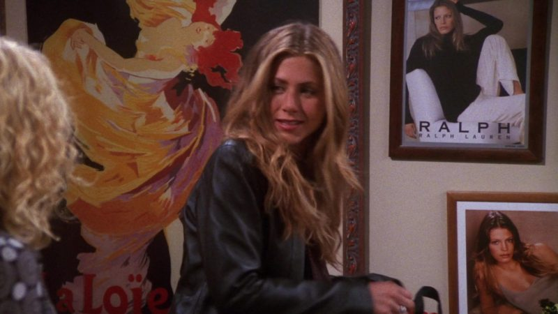 """Ralph """"Ralph"""" Lauren Poster in Friends Season 7 Episode 5 """"The One With the Engagement Picture"""" (2000) - TV Show Product Placement"""