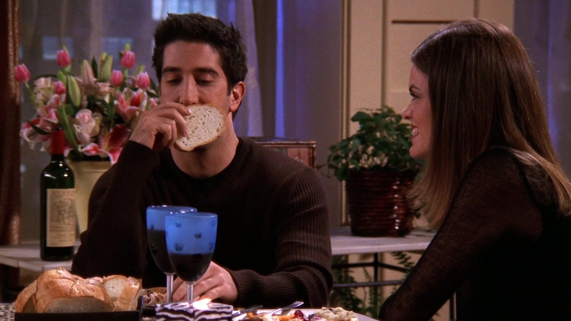 Ruffino Wine Drunk by David Schwimmer (Ross Geller) in ...