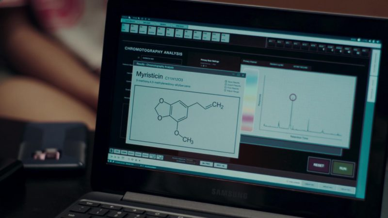 Samsung Laptop Used by Mackenzie Graham in Nancy Drew and the Hidden Staircase (2019) - Movie Product Placement
