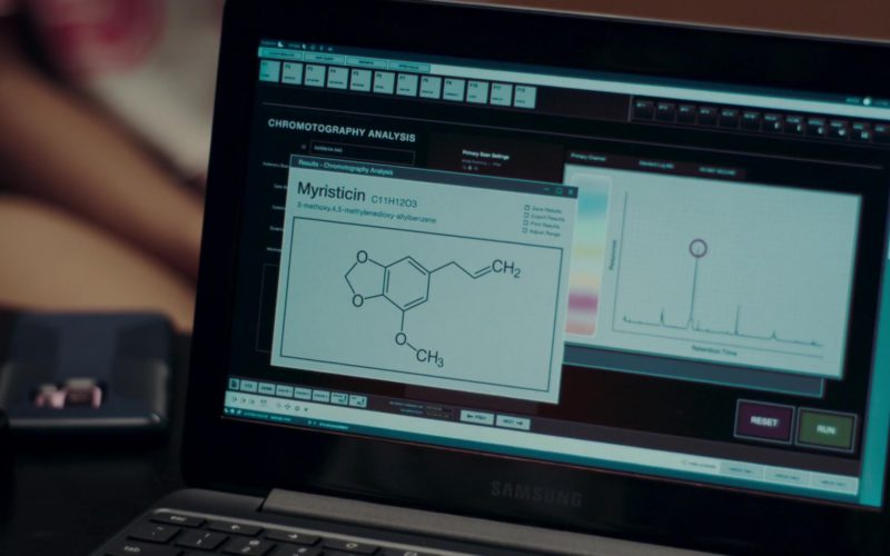 Samsung Laptop Used by Mackenzie Graham in Nancy Drew and the Hidden Staircase (2)