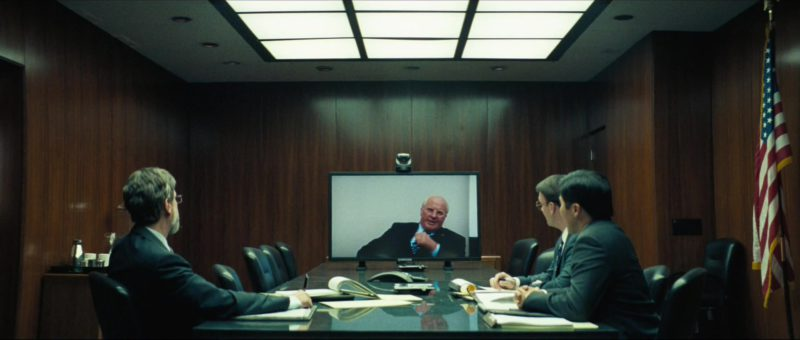 Samsung TV in Vice (2018) Movie Product Placement
