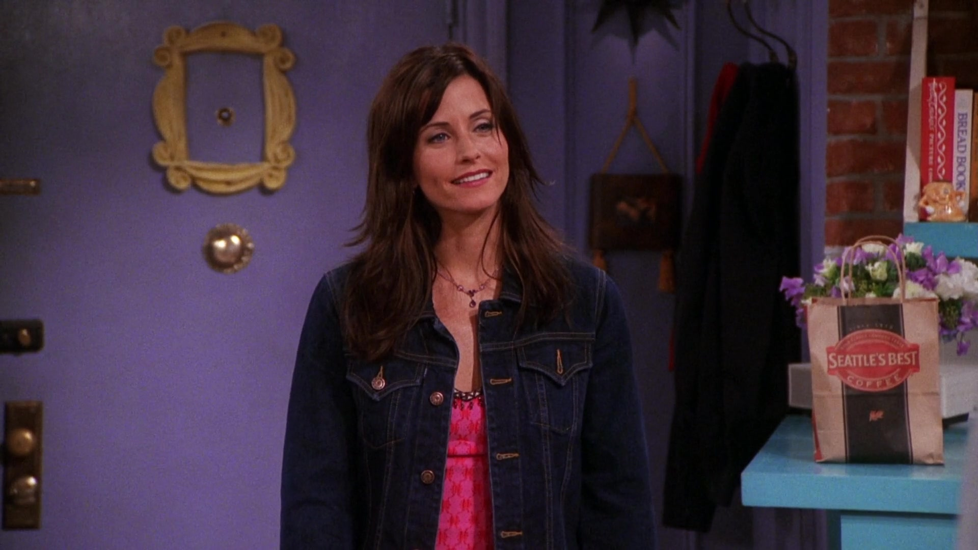 Seattle S Best Coffee Paper Bag In Friends Season 7 Episode 2 The One With Rachel S Book 2000