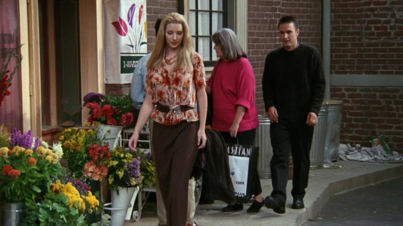 "Sebastian Professional Cosmetic Paper Bag in Friends Season 3 Episode 3 ""The One With the Jam"" (1996) TV Show Product Placement"