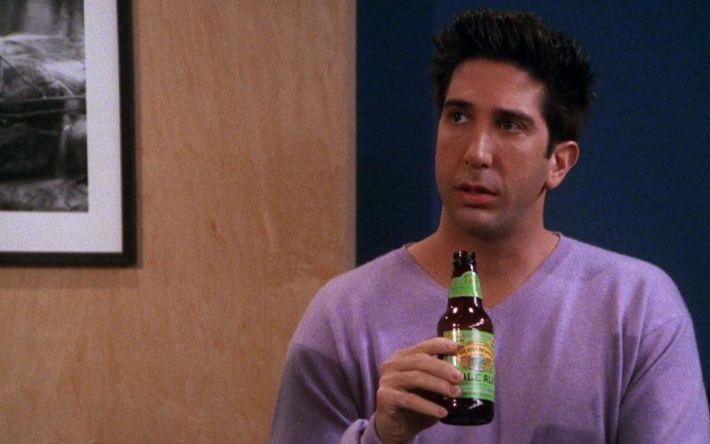 Sierra Nevada Pale Ale Held by David Schwimmer (Ross Geller) in Friends Season 7 Episode 17 (2)
