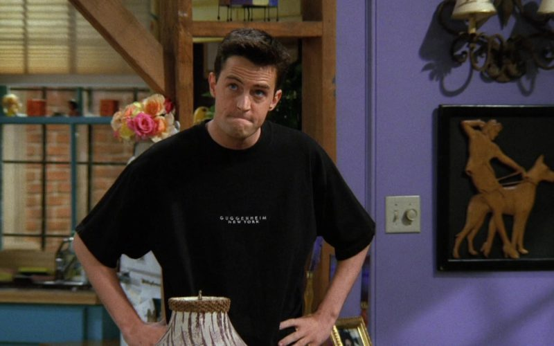Solomon R. Guggenheim Art Museum Black T-Shirt Worn by Matthew Perry (Chandler Bing) (10)