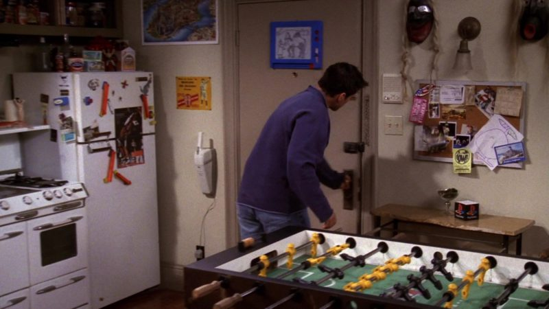 "Sony PlayStation Small Box in Friends Season 6 Episode 8 ""The One With Ross' Teeth"" (1999) - TV Show Product Placement"