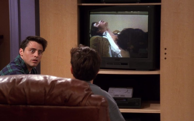 Sony PlayStation home video game console in Friends Season 4 Episode 18
