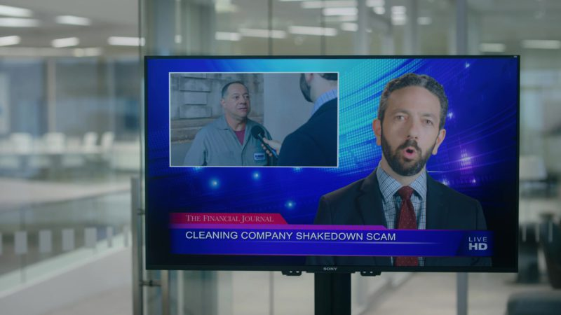 """Sony TV in Billions Season 4 Episode 2 """"Arousal Template"""" (2019) TV Show Product Placement"""